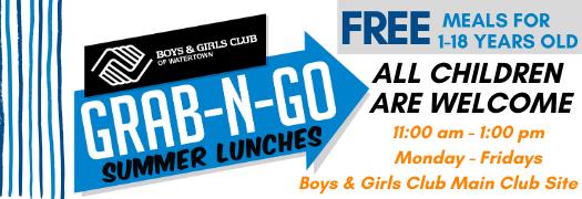Grab-N-Go Summer Lunch Information
